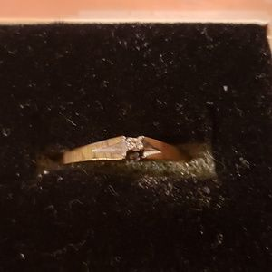 10k diamond Promise ring